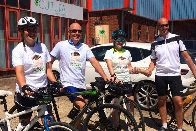 GAFT Charity Bike Tour Almost Over